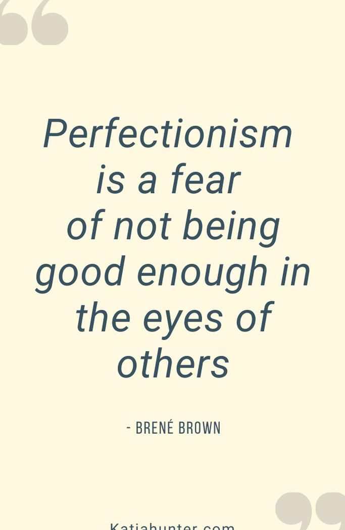 Learn How To Move Past Perfectionism And Into Playful Creativity In This Post Weve Got To Stop Worrying About Other Peo Perfectionism Not Good Enough Beautiful