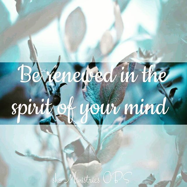 """""""Put off, concerning your former conduct, the old man which grows corrupt according to the deceitful lusts, and be renewed in the spirit of your mind."""" (Ephesians 4:22-23) . . #sheabq #sheministriesobs #onlinebiblestudy #ephesians #liveabundantly #renew #redemption #sheministries"""