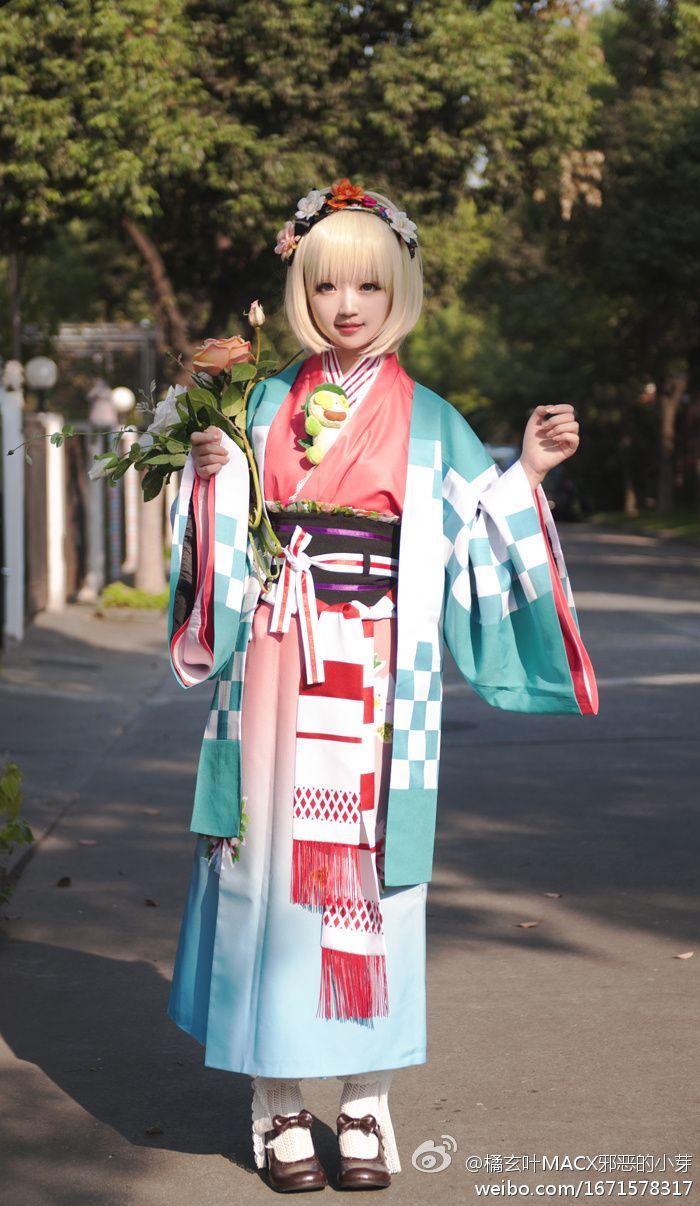 Beautiful Ao no Exorcist Shiemi Moriyama cosplay^^