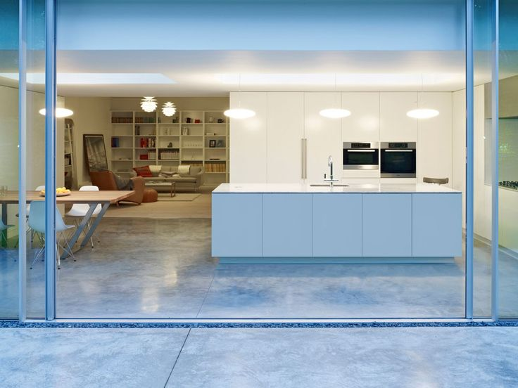 *neat and discreet concrete expansion joint* Coffey-Architects_Kitchen-Garden-27_London
