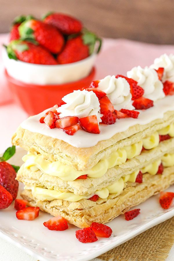 These Strawberry Napoleons are a classic dessert made with puff pastry, pastry cream and fresh strawberries! A simple dessert that looks great and is so fresh and tasty! So bringing home newborns for the first time is definitely a learning curve. One of the best things I did before the twins' arrival was to read …