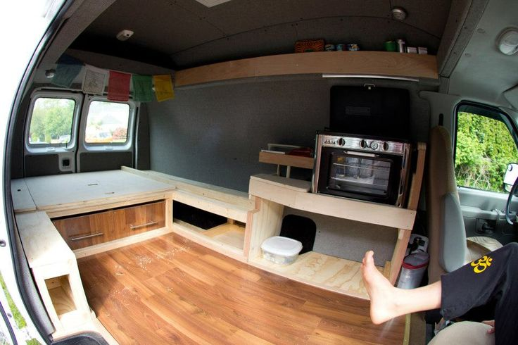 Van conversion, Sonnie Trotter - gonna try to build this tomorrow!