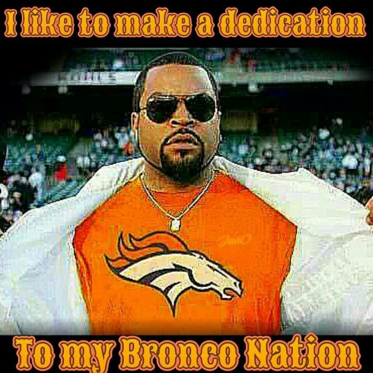 It's BRONCOS COUNTRY, not Nation. Just sayin...