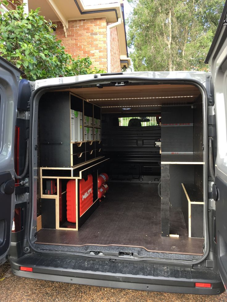 Carpentry van fitout phase 7: Fabricate and fit shelves for Festool systainers and draws for hand tools etc.