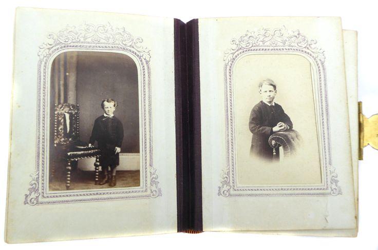 Hardinge Family Photo Album Antique Photograph Album Vintage Photo Album Cartes…