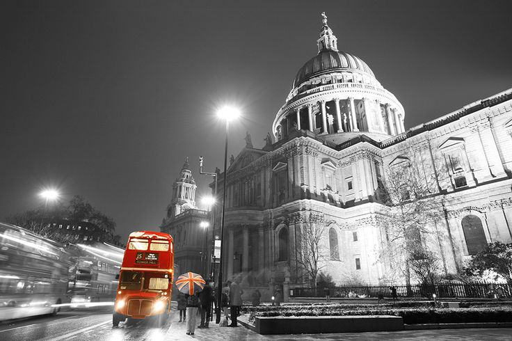 11 best images about ohpopsi london wall murals on for Black and white london mural wallpaper