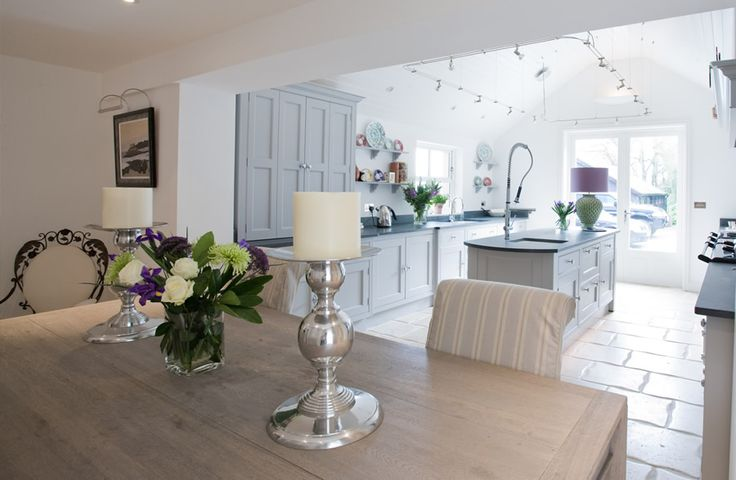 Love this light, bright family space. similar units and colours as mine