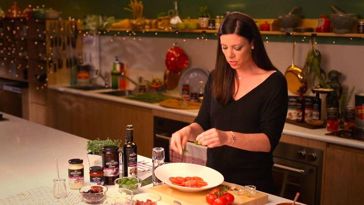 Tomato, Bocconcini & Olive Salad