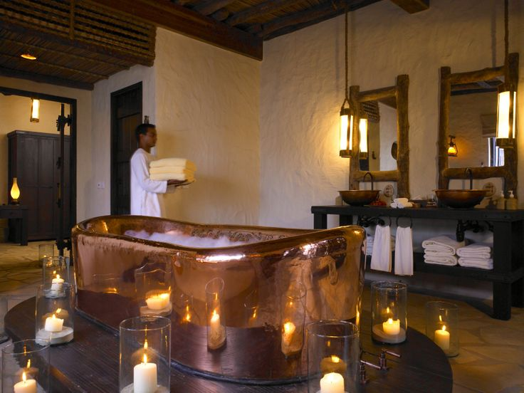 Who needs a ceramic tub? The #Masterbath at Six Senses Zahay Bay's Private Reserve Image by Kiattipong Panche