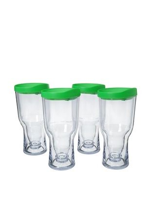 83% OFF AdNArt Set of 4 Brew to Go, Green