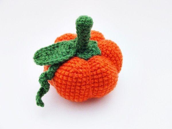 crochet pumpkin / horgolt tök http://habcsi.blogspot.hu/
