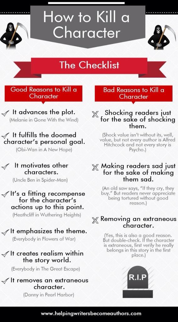 Kill a character