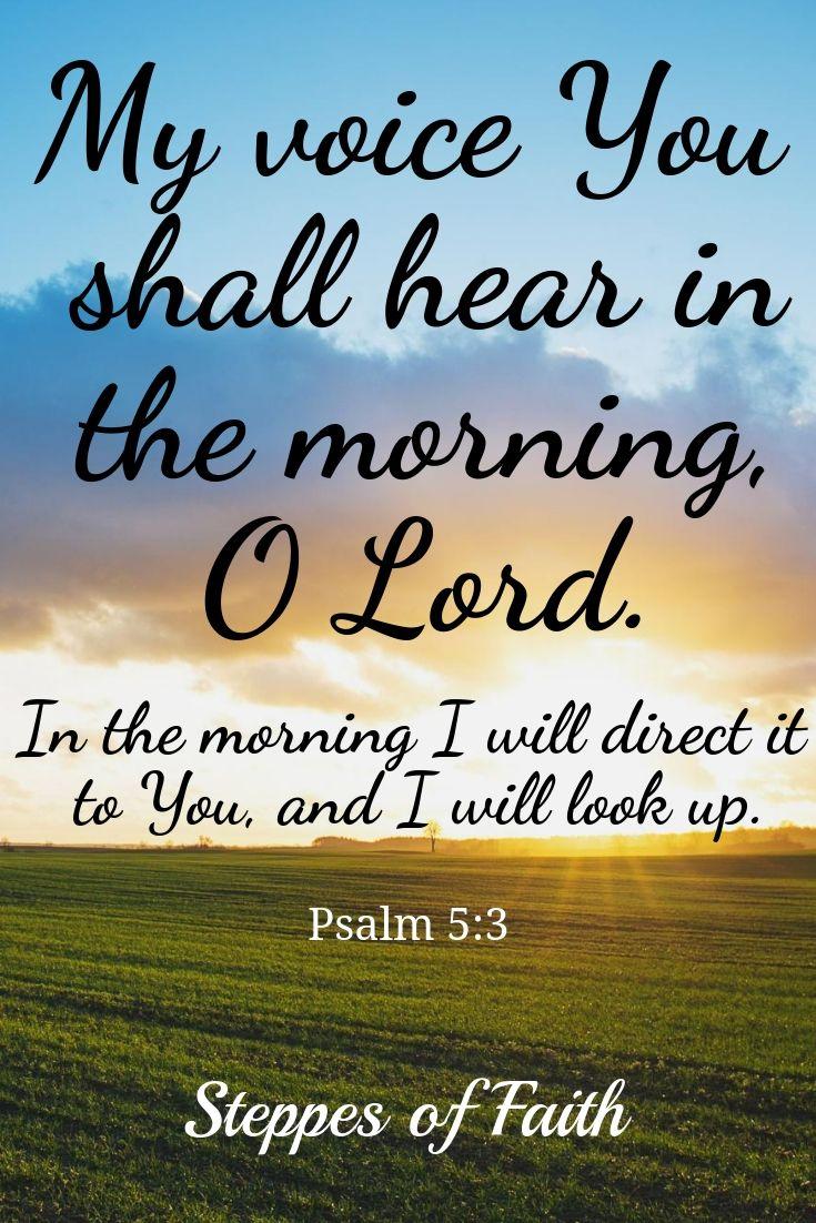 Jesus hears us when we pray.
