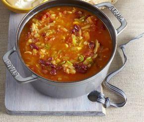 Ostrá polévka s fazolemi (Indie)