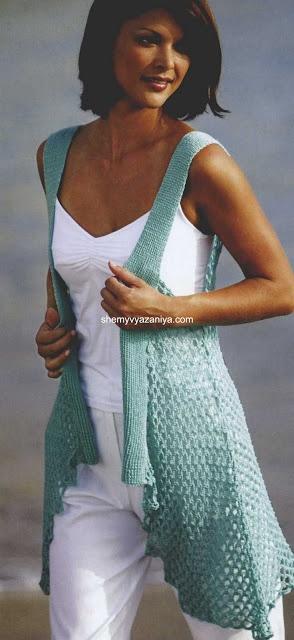 Gorgeous crochet vest