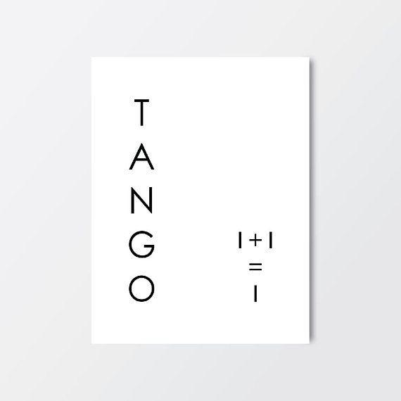 Poster, Tango, Dance, Print, Lena Paliarouti poster