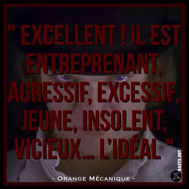 - Orange Mécanique -