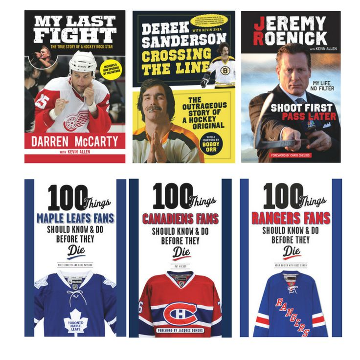 Hockey is back! 35% off select Original Six print titles from Triumph Books. Use promo code HOCKTOBER #NHL #Blackhawks #RedWings #Bruins #MapleLeafs #Canadiens #Rangers #Hockey https://www.triumphbooks.com/
