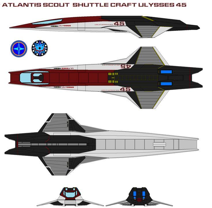 sci fi space shuttle craft - photo #10