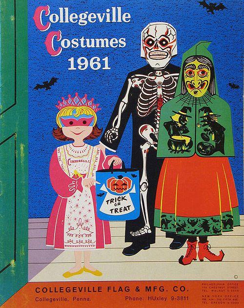 Collegeville Halloween Costumes Catalog, 1961