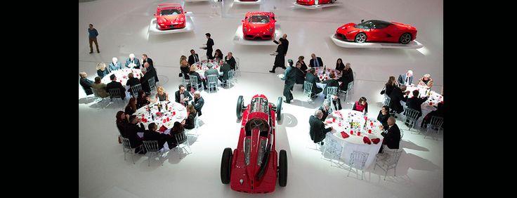 Dopo il successo dello scorso anno, il 17 febbraio sera, in anteprima rispetto l'apertura della nuova mostra che avrà luogo il 18 febbraio, si terrà la cena di gala 2016 proposta dalla Fondazione Casa Enzo Ferrari.