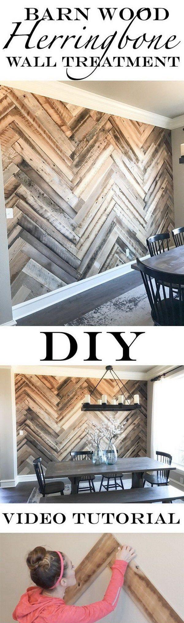 Best 10+ Wall treatments ideas on Pinterest | Wood walls ...