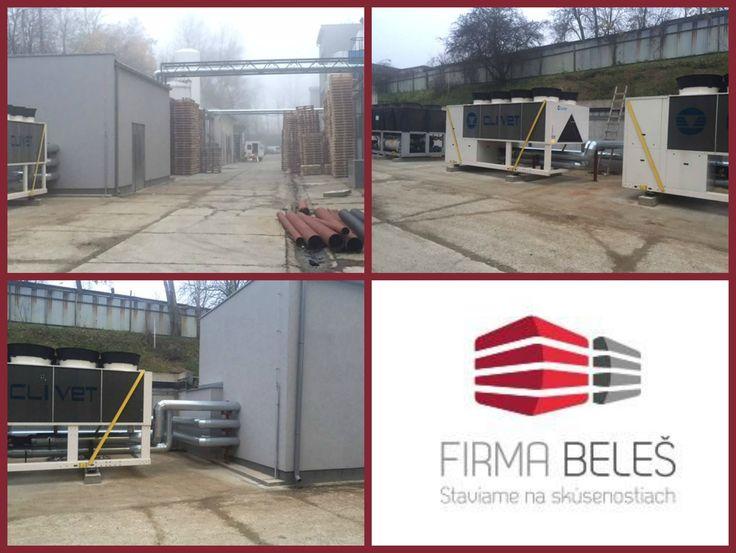 Takto sme postavili strojovňu pre Medical Glass. #firmabeles #postavime #postavilisme #medicalglass #buildings #stavebneprace #slovensko