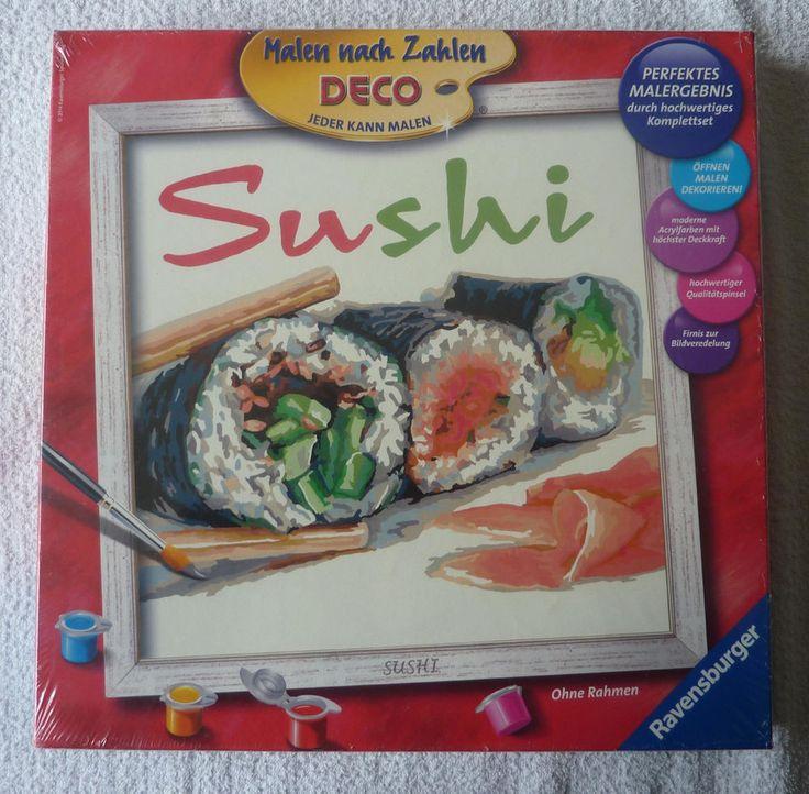 Jeu creatif de peinture SUSHI neuf Ravensburger ebay brunomimi2008