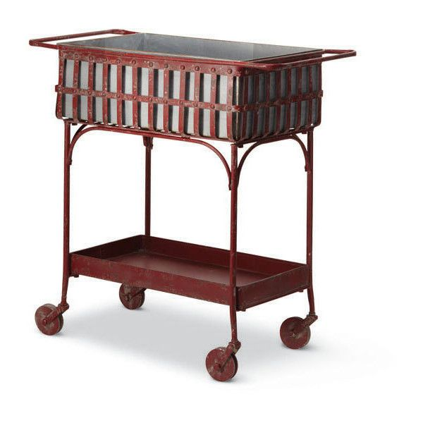 Dot & Bo To and Fro Cart ($139) ❤ liked on Polyvore featuring home, kitchen & dining, outdoor serving carts, outdoor cart, outdoor tea cart and outdoor bar cart