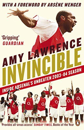 Invincible: Inside Arsenal's Unbeaten 2003-2004 Season by... https://www.amazon.com/dp/B00KQZVNFU/ref=cm_sw_r_pi_dp_x_BK4fAbPM5BXH7
