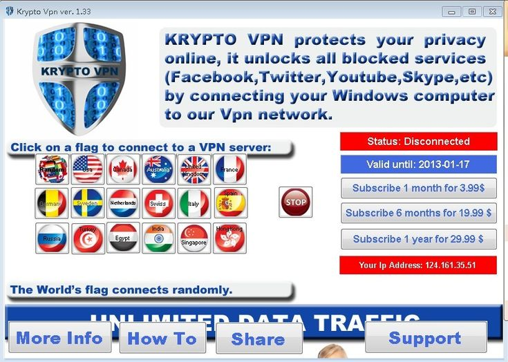 Kryptotel offer 1 day Free Trial for Krypto Vpn Service.and 7 day money guarantee makes the service more reasonable.    http://www.bestvpnserver.com/kryptovpn/