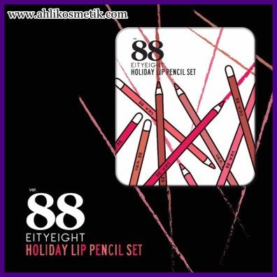 5.Ragam Warna 88 Holiday Lip Pencil
