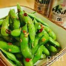 夏に向かって♪枝豆ペペロンチーノ。