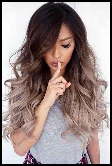 Haartrend 2019 Farbe Mk Frisuren Hairstyles Haarfrisuren