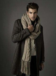bufandas para hombres tejidas , Buscar con Google