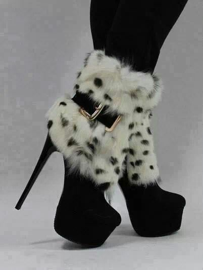 Reminds me of Cruella DeVille  http://www.stylisheve.com/jerome-rousseau-footwear-fall-winter-2012-2013-collection/