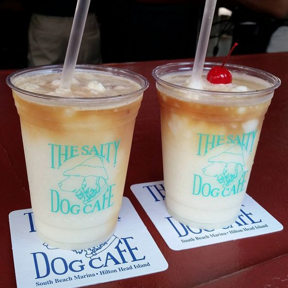 The Salty Dog Cafe is a must-see spot in Hilton Head Island, South Carolina.