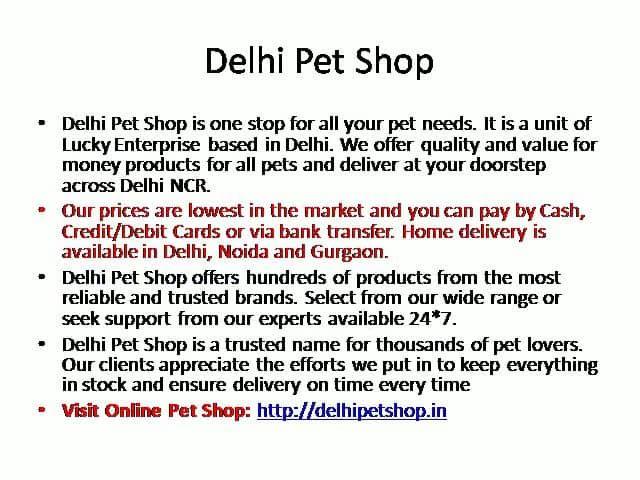 List of Pet Shops in Delhi – Delhi Pet Shops – Pet Stores, Pet Supplies, Pet Food Online -  https://vimeo.com/indiareviews/list-of-pet-shops-in-delhi