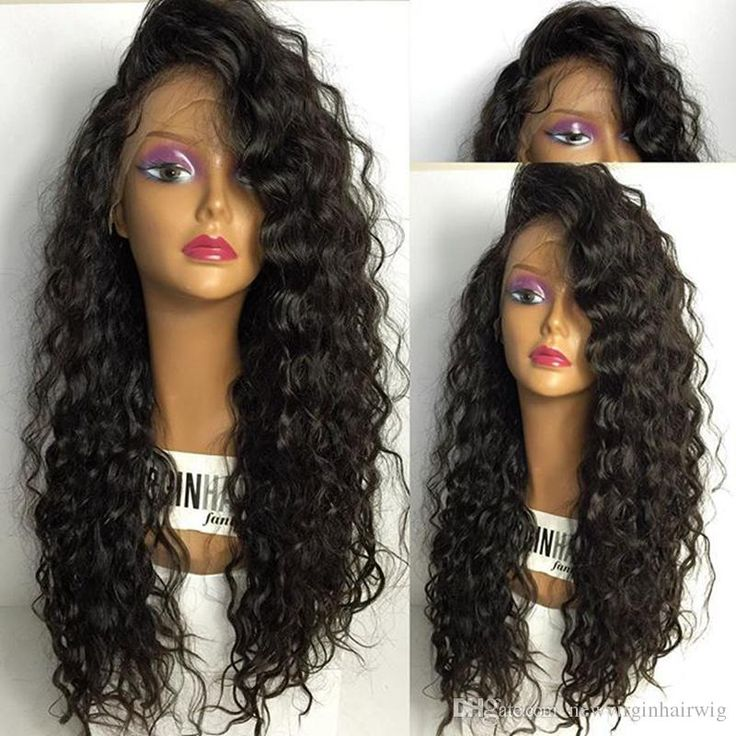 100% Full Lace Human Hair Curly Wigs For Black Women Brazilian Human Hair Kinky…