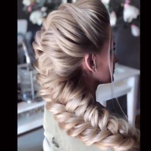 Heavenly volume braid! Video Tutorial!