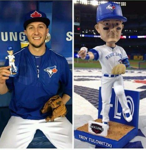 Troy Tulowitzki Bobblehead Toronto Blue Jays SGA 2016 $75 OBO   toys, games   City of Toronto   Kijiji