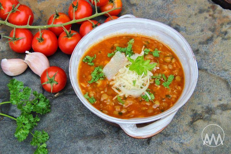 V kuchyni vždy otevřeno ...: Italská čočková polévka