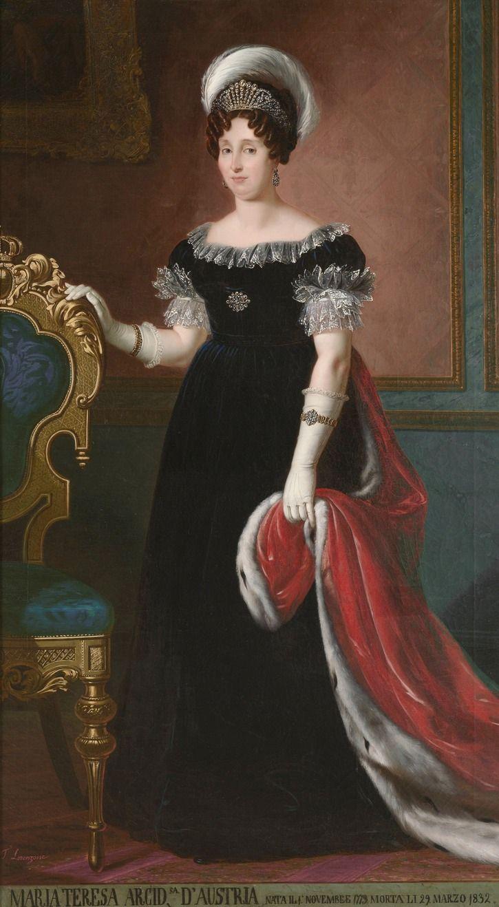 La Duchessa Maria Teresa d'Austria Este Duchessa di Savoia e Regina di Sardegna by ? (location unknown to gogm) the lost gallery