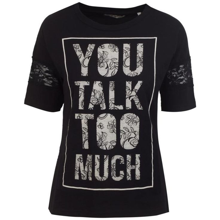 💕 Γυναικεία Μπλούζα T-Shirt Talk Too Much  T-Wall 💕 Γυναικεία T-Shirt στο Gynaikeia.com https://www.gynaikeia.com/c/gynaikeia-tshirt #moda #T-WALL