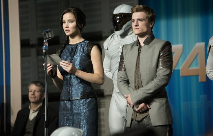 Hunger Games: The Girl of Fire- First Teaser Trailer Starring Jennifer Lawrence, Josh Hutcherson