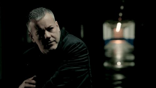 "We see Lestrade rocking a buzzcut. | The First Tantalizing Glimpse Of The New Season Of ""Sherlock"""