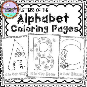 These Letters of the Alphabet Coloring Pages are a fun activity to help reinforce uppercase and lowercase letter recognition and give students practice using fine motor muscles to color! Each uppercase and lowercase letter incorporates a beginning sound picture to help students associate letters with sounds.Coloring pages to compliment letter of the day/week activities!Also great for literacy centers, morning work or as an activity for early finishers!The following coloring pages are…