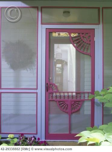 Screen Door Vintage Cottage Old Screen Doors Front Door With Screen