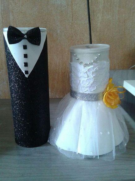 Cofre Noivos Hora Da Gravata