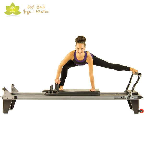 the spider pilates reformer exercise 2